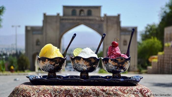 فالوده شیرازی - تغذیه - آشپزی