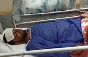 تصاویر تنها مجروح حادثه شناور کنارک؛ ۱۴ نفر مرخص شدند