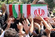 تشییع پیکر شهید مدافع حرم در شهرری