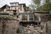 وقتی مردم یک روستا تیشه به ریشه میراث ۳هزار ساله میزنند! | تخریب چند خانه قدیمی در کنگ