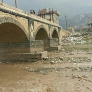 آغاز مرمت پل تاریخی کشمشتپه در ماکو