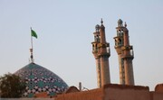 تصویر | گلدستهها؛ نماد معماری اسلامی در دارالعباده
