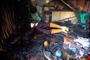 فیلم | آتشسوزی معبد هندوهای بندرعباس