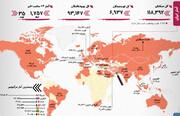 آمارکرونا   وضعیت فوقالعاده در یک استان ایران   رکورد امارات