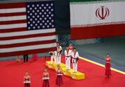 عکس|روزی که پرچم ایران در المپیک بالاتر از آمریکا ایستاد