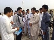 علی کریمی و رسول خادم در بلوچستان مدرسه میسازند