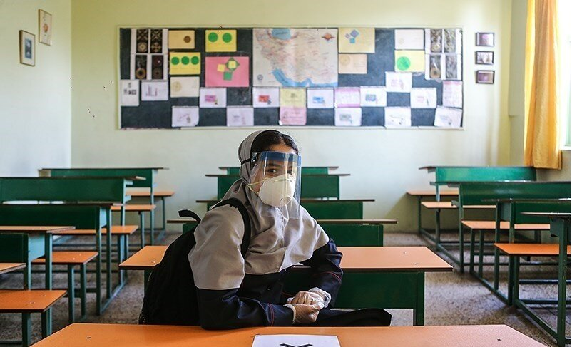 کرونا-مدرسه