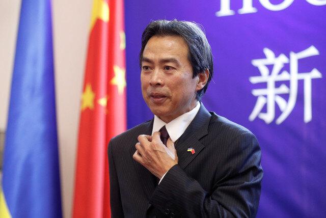 دو وی سفیر چین در اسرائیل