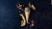 بستنی گرانقیمتی که از حشرات تهیه میشود