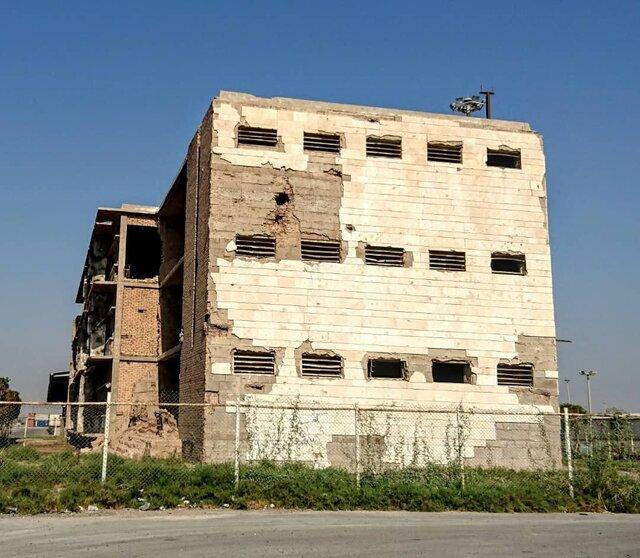 ساختمان قدیم «اداره بندر و کشتیرانی خرمشهر»