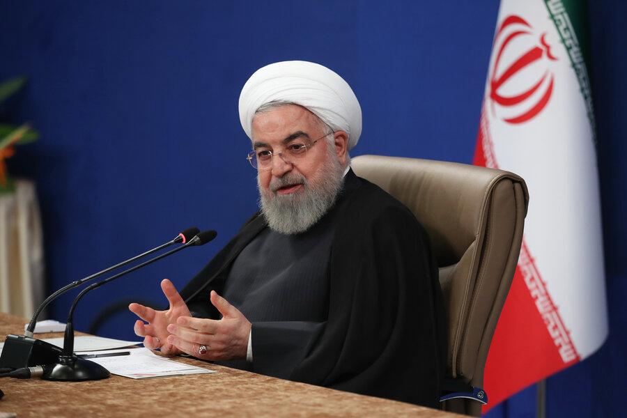 تصاویر نشست  روحانی  با مدیران و فعالان رسانه ای