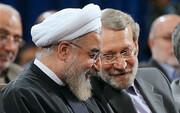 واکنش روحانی به پایان ۱۲ سال ریاست لاریجانی بر مجلس