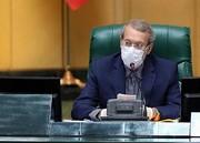 سخنان مهم لاریجانی در نطق آخر ؛ کنایه به احمدی نژاد | رهبر انقلاب هیچ گاه دستوری به مجلس ندادند | تکرار فساد فساد همان بگم بگم سابق است