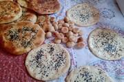 آشنایی با آیین پخت نان سنتی کولیره  در ماه رمضان- کردستان