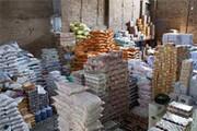 بیش از ۷۰۰ تن حبوبات احتکاری در انبارهای شهرری کشف شد
