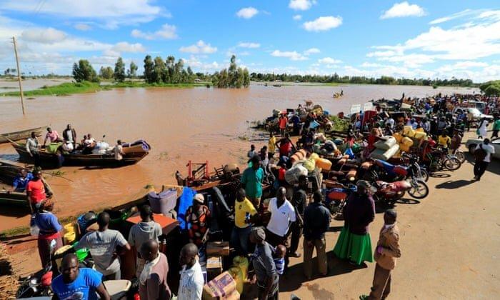سیل در شرق آفریقا