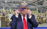 قدرتنمایی بدون ماسک برابر دوربین | تور انتخاباتی ترامپ از میشیگان آغاز شد