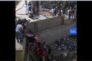 فیلم | تصاویر نزدیک از وضعیت محل سقوط هواپیمای پاکستانی