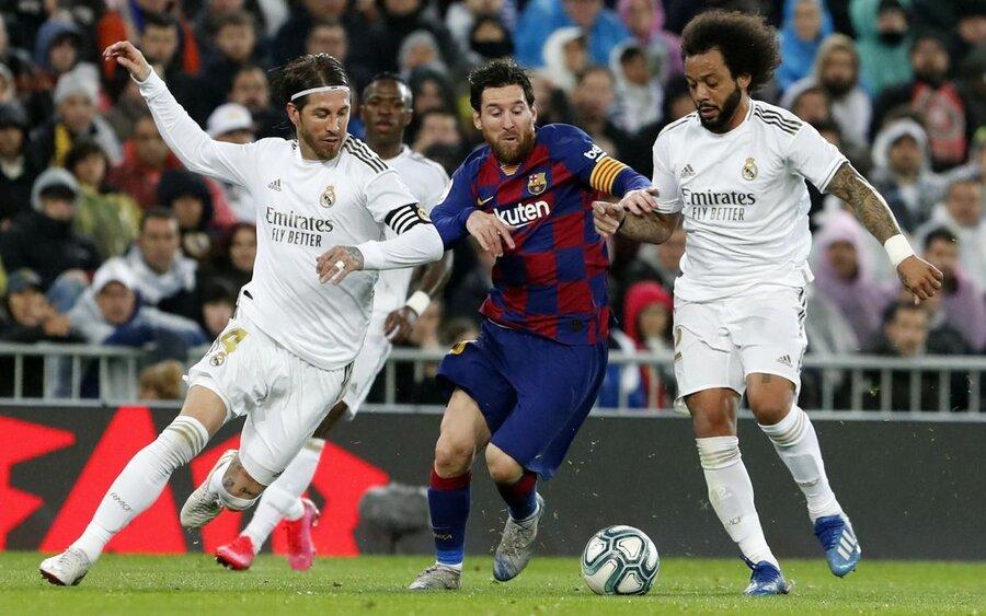 بارسلونا رئال مادرید