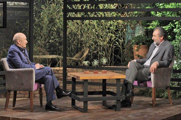 دکتر حمید یعقوبی و داريوش كاردان در برنامه مكث