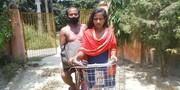 جذابتر از فیلم بالیوودی | ۱۲۰۰ کیلومتر رکاب زدن دختر هندی به عشق پدر