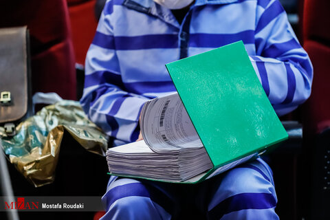 تصاویر سومین جلسه دادگاه ۲۱ متهم کلان ارزی