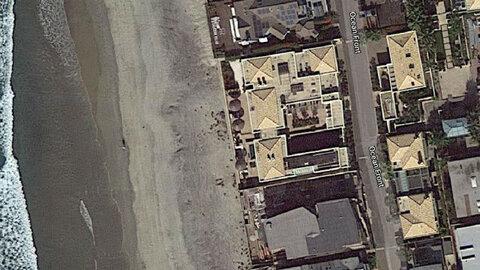 خانه بیلگیتس از نگاه گوگلمپ