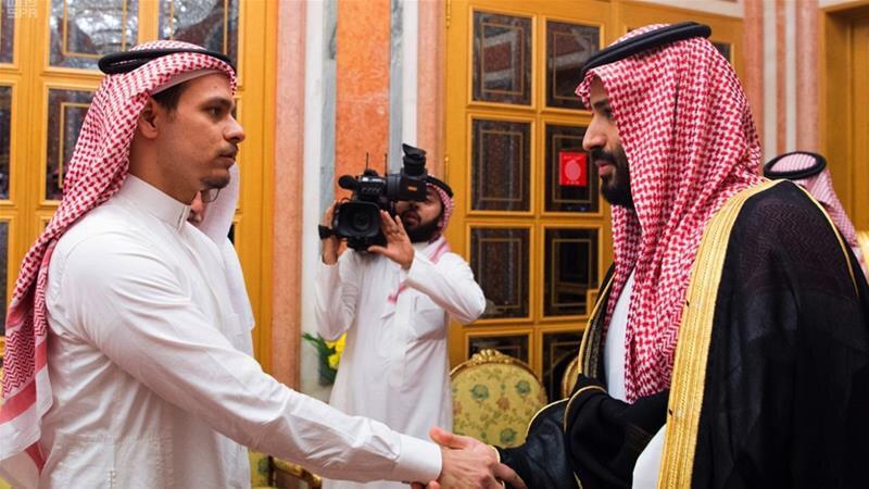 دیدار صلاح خاشقچی با محمد بن سلمان