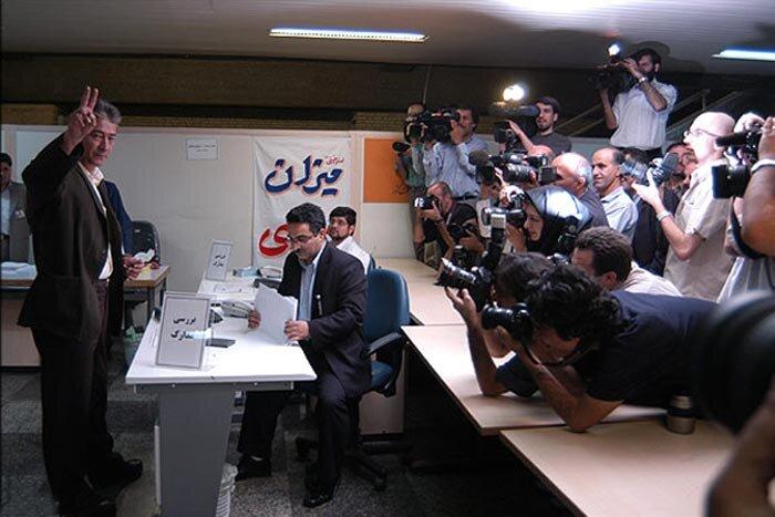 ناصر حجازی انتخابات