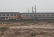 آخرین وضعیت خروج قطار از ریل در پرند | درمان سرپایی مصدومان