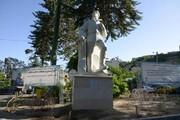 رونمایی از مجسمه نخستین ایرانی فاتح اورست
