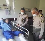 عکس | عیادت فرمانده کل ارتش از جانبازان حادثه شناور کنارک