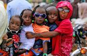 عکس روز | جشن عید فطر برای بچههای مسلمان نیجریه