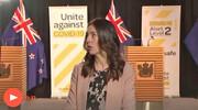 واکنش نخستوزیر نیوزیلند به زلزله ۵.۸ ریشتری در برنامه زنده