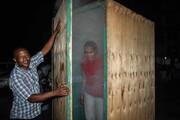 عکس روز | اتاقک بخار برای پیشگیری کرونا