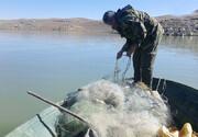 ممنوعیت صید ماهی در دریاچه سد زایندهرود