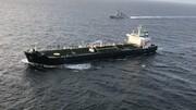 فیلم | نمایی نزدیک از نفتکش ایرانی رسیده به ونزوئلا