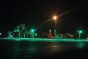 ترمیم روشنایی میدان امامحسین (ع) شهر مهران