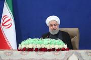 روحانی: تجارت ایران و یک کشور دولت به آمریکاییها ارتباطی ندارد   تمام بخشهای دولتی باید سهام خود را در بازار بورس به فروش برسانند
