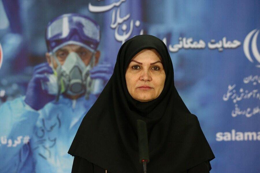 زهرا عبداللهی مدیرکل دفتر تغذیه وزارت بهداشت