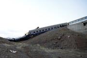 علت خروج قطار همدان - مشهد از ریل نامعلوم است