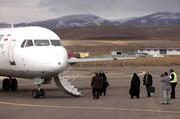 برقراری مجدد پرواز فرودگاه سهند پس از ۲ ماه تعطیلی