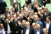 اولین تصاویر قالیباف پس از انتخاب به عنوان رئیس مجلس