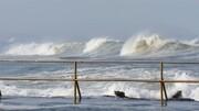 ارتفاع موج دریای عمان به ۲.۵ متر میرسد
