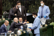 تصاویر | لحظه رای دادن قالیباف در روزی که رئیس مجلس شد