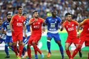 عکس|دیاباته  بهترین مهاجم لیگ برتر فوتبال ایران