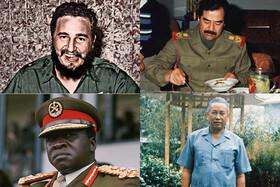 تصاویر   دیکتاتورها شام چه میخورند!
