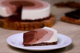 طرز تهیه چیزکیک یخچالی   بدون فر کیک بپزیم