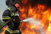 مهار آتشسوزی در بازار خرمآباد