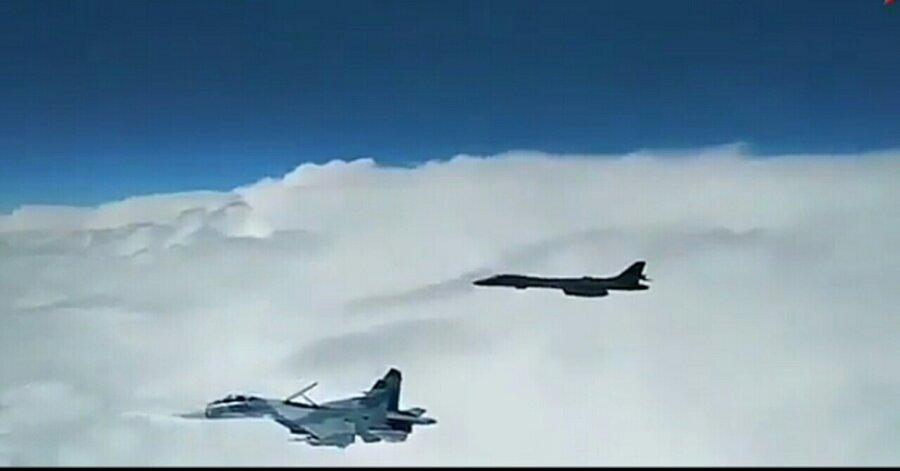جنگنده روسیه و امریکا